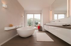Eingelassene Badewanne schicke schwarze eingelassene badewanne moderne gestaltung bad