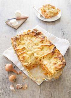 Lasagne au fromage de chèvre et courge butternut