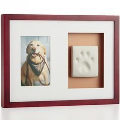 This is a sad little website, but I like the idea of the paw print.