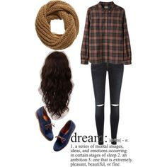 If only my dreams were reality. by nataliesky on Polyvore featuring River Island, Madewell, even&odd and WigYouUp