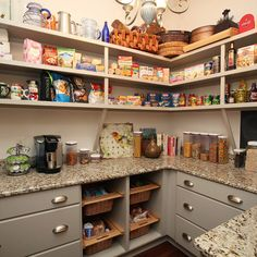 appliance garage could be in the pantry