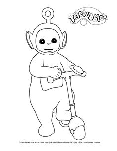 Po colour-in
