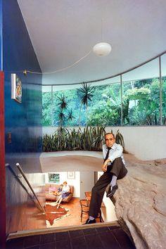 Oscar Niemeyer - Casa Das Canoas (architect's own home