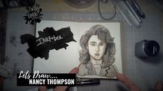 Nancy Thompson from Nightmare on Elm Street - Drawing Bad Ass Ladies of Horror - Inktober 2018 Nightmare On Elm Street, Inktober, How To Fall Asleep, Badass, Horror, Create, Drawings, Sketches, Drawing