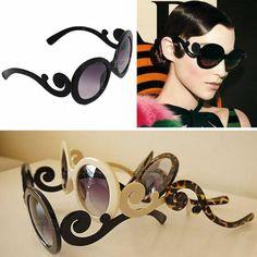 c4e339b5a2fb Prada - 55mm Baroque Round Sunglasses