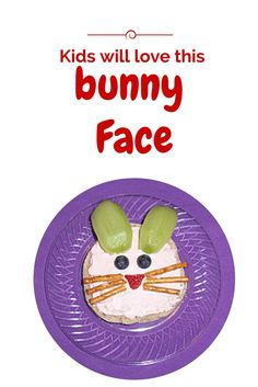 Kids will love this Bunny Face recipe at Easter