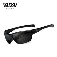 3ef15d6152 20 20 Brand Design Classic Black Polarized Sunglasses Men Vintage Square Lens  Sun Glasses Male