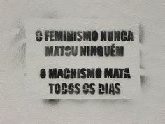 feminist graffiti by soraia_bejinhos, via Flickr