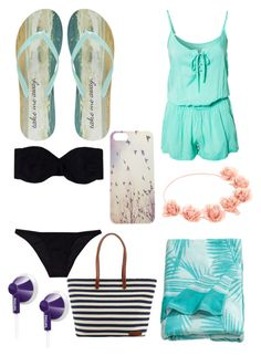 """""""Untitled #39"""" by simpsonnyc on Polyvore featuring Wet Seal, Phax, H&M, Philips and Lisa Marie Fernandez"""