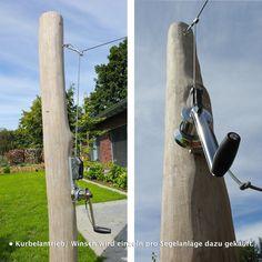 Hängematte Stange Sonnensegel Pfosten Ø70mm 2,5m 3mm Wandung