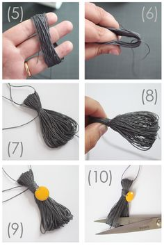 tuto marque-page plastifié Abracadacraft Creative Class, Fathers Day Crafts, Creation Couture, Deco, Easy Crafts, Diy Jewelry, Origami, Tassels, Scrapbook