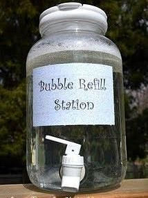 Kaila's Place | Bubble Refill Station