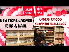 Usupso New Store Launch Tour with Price & Usupso Rs 1000 Shopping Challenge in today's video. I am sharing Usupso, a cute japanese store & chinese store tour. Japanese Store, Cute Japanese, Commercial Street, All Things Cute, Get To Know Me, Try On, Friends Family, Street Fashion, Online Shopping