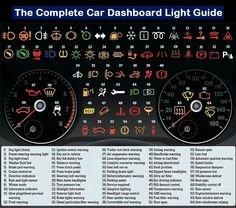 Car dashboard light guide