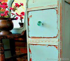 Eulalies Sky, Miss Mustard Seed Milk Paint, Petticoat Junktion