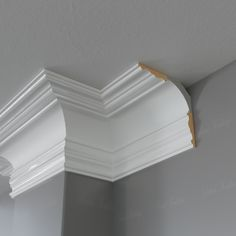 The Middleham a beautiful mould that recreates your installed coving – Ceiling Ceiling Coving, Ceiling Crown Molding, Moldings And Trim, Ceiling Decor, Ceiling Skirting, Cove Crown Molding, Faux Crown Moldings, Cornices Ceiling, Window Molding Trim
