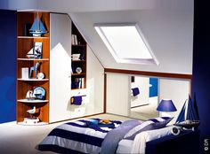 1000 images about combles on pinterest sloped ceiling - Amenager un dressing sous pente ...
