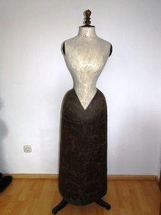 Schneiderpuppe Schneiderbüste Wespentaille 51cm Ganzkörper Mannequin Paris! in | eBay