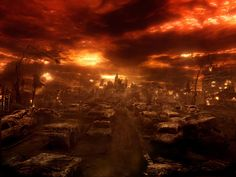 How London will appear once Zobiana, and the Newbloods infect the Earths human population with V5.