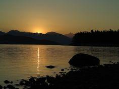 Sunrise Rebecca Spit Quadra Island