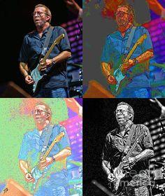 Eric Clapton Pop Photograph  - Eric Clapton Pop Fine Art Print
