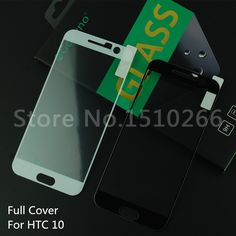 Goevno Full Cover 2.5D Arc Edge 9H Anti-Burst Tempered Glass Screen Protector Mobile Phone Protective Film For HTC 10
