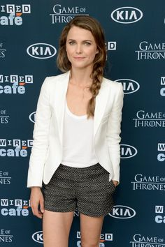 From 1999 to Now: Keri Russell's Most Stunning Snaps: Between her hit TV show The Americans and a role in this Summer's Dawn of the Planet of the Apes, Keri Russell is having a moment. Keri Russell Style, Celebs, Celebrities, Minimalist Fashion, Minimalist Style, Summer Wardrobe, Celebrity Photos, American Actress, Fashion Beauty