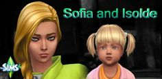 Sims 4 - Sofia und Isolde Mager