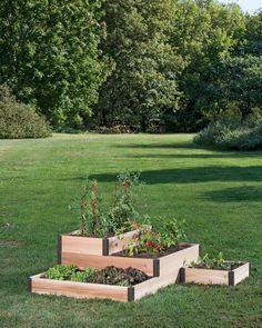 DIY Tiered Herb Garden Tutorial | Receipes | Pinterest | Herbs ... on