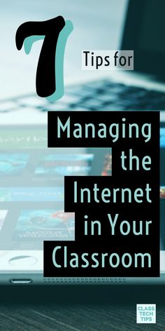 Having access to the Internet is a must for teachers preparing students to navigate the world outside of their classroom. Here are a few ideas on how to managing classroom internet when incorporating web tools into your instruction. Classroom management, Internet management, behavior management #Sponsored #digitalclassroom #internet