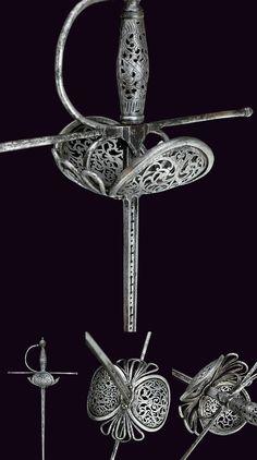 Italian Rapier Dated: 17th Century Culture: Italian Measurements: length 127cm