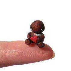 Micro robot sculpture robot figurine by TrufflesAndTrinkets