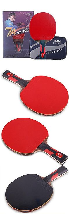 Paddles 36277: Double Fish 7 Star Advanced Training Ping Pong Paddle, Table Tennis Racket With -> BUY IT NOW ONLY: $45.52 on eBay!