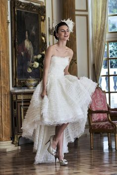 Swan Lake Wedding Dress – Ian Stuart Revolution Rocks 2011 Bridal Collection