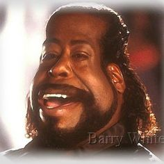 Barry White Caricature