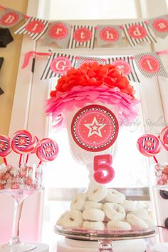 """Photo 1 of 22: American Girl, 5th Birthday / Birthday """"Olivia's American Girl Doll Party"""" 
