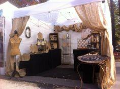 ❥ beautiful booth display
