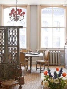 Dining Room Room Partition Design Pictures Remodel Decor and Ideas Photo