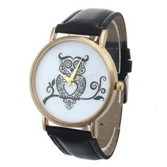 Women's Owl Watch - Click For Different Color Options