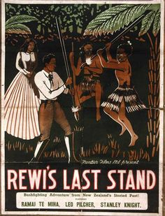 Rewi's Last Stand (1925) - one of a handful of silent films made in New Zealand