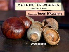 Filastrocca 'Tesori d'autunno', Rhyme 'Autumn treasures' - kids, bimbi @buzzyvideos