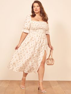 27 Plus Size Skirts Inspiring Ideas. Womens Plus size dress, clothes. Plus size outfit cute patterns inspiration. Womens plus size fashion. Big Size Dress, Plus Size Dresses, Plus Size Outfits, Curvy Fashion, Plus Size Fashion, Petite Fashion, Fall Fashion, Preppy Fashion, Nyc Fashion