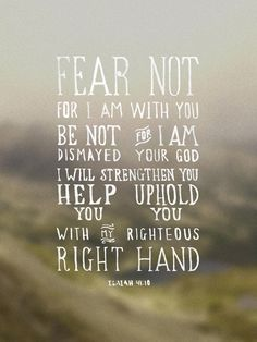 Free printable or desktop wallpaper // Isaiah 41:10 // via theversesproject.com // by Chris Wright