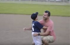 This Military Dad Surprising His 5-Year-Old Son At A Little League Game Will Brighten Your Day