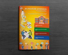 Naša reklamná agentúra Complete reklama, s.r.o. vytvorila grafiku na brožúru o biligválnych gymnáziách. Máme radi takéto produkty. Vrátili sme sa do našich gympláckych čias a vytvorili materiál, ktorý by zaujal naše mladšie ja vo veku 14 -15 rokov. Stredná škola môže redurčiť celý váš život. Vyberajte správne ;-) www.completereklama.sk #graphic #graphicdesign #print #advertising #marketing #completereklama Folder Design, Nasa, Advertising, Graphic Design, School, Books, Libros, Book, Book Illustrations