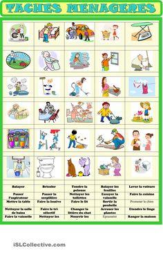 Vocabulaire / exercice d'association
