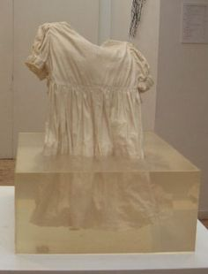 "Tiziana Bendall-Brunello ~ ""Emerging""  Porcelain dress in resin via tizianab-b.co.uk"
