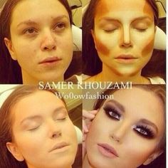 not that she isnt pretty in the first picture or anything, but I just dont get this, she doesnt really look like this, its just so fake to me
