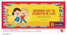 It's all about kids this November at Inorbit Mall Whitefield