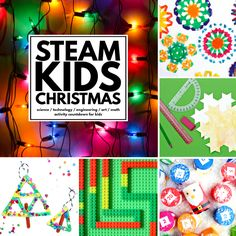 This post uses affiliate links. Read our full disclosure here. Thank you for your support of Handmade Kids Art. STEAM Made Easy! Are you looking for a way to combine the holidays with learning? Well, look no further than our latest book, STEAM Kids Christmas! Since the success of STEAM Kids (a number one best …